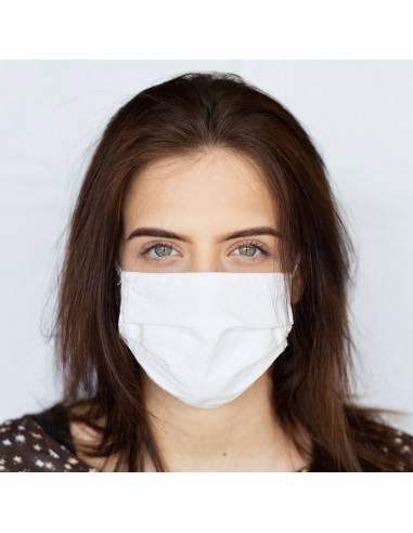 Masque 3 plis lavable tissus